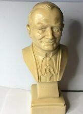 More details for resin bust of  pope john paul ii catholic statuette 23x 10 cm's
