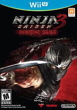 Ninja Gaiden 3 Razors Edge Nintendo Wii U New
