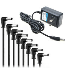 PwrON 9V AC Adapter for Zoom Guitar Pedals PS-02 PS-04 RFX-300 RT-123 Supply PSU