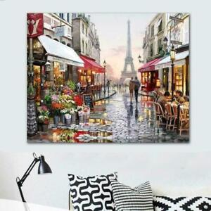 Fashion Painting DIY Paint By Number Kit Digital Oil Home Decors Art K9B1