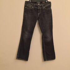 Silver Men's McKenzie slim bootcut Jeans black W32/L32