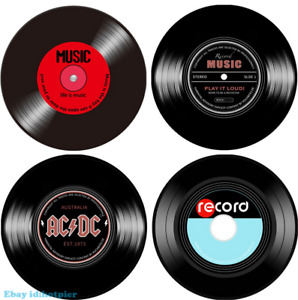 Retro Fashion Vinyl Record Carpet Parlor Bedroom Study Decorative Circular New