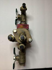 "Watts back flow preventer LF009 3/8"" Lead-free Reduced Pressure Zone Assemblies"