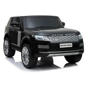 Range Rover SUV, 4x4 Electric Ride On Toy for Kids - Black