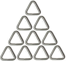 Anneau Triangulaire 5 mm x 25 mm ( Lot de 10 ) inox A4 Triangle