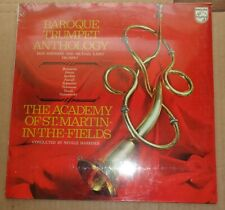 Marriner/Smithers/Laird BAROQUE TRUMPET ANTHOLOGY - Philips 6500 110 SEALED