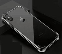 Wholesale Lot 10 Bulk Samsung  iPhone X clear TPU gel bumper case 6 7 8 9 Plus