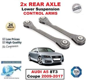 REAR AXLE LEFT and RIGHT Lower SUSPENSION ARMS for AUDI A5 8T3 Coupe 2009-2017