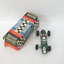Vintage Scalextric C5 Europa Vee Verde #2 potencia Trineo Rx motor tipo 2 ranura de coche