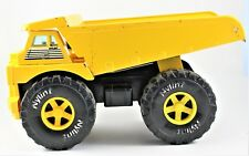 "Nylint Pressed Metal Dump Truck 15"" 1989 Vintage Free Shipping"
