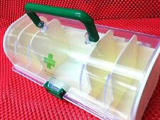 Portable Medicine Carry Case / Container / Organizer, First Aid Pill Storage Box