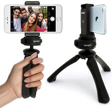 Mini Table Top Stand Tripod Stabilizer + Universal Smartphone Holder Mount