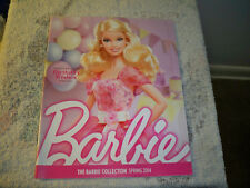 The Barbie Collector Collection Catalog SPRING 2014 Birthday Wishes Cover  New