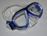 Scuba Diving Divers/Snorkeling Low Volume Diving Mask Silicone Skirt - Blue