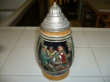 VINTAGE GERMAN BEER STEIN Made in Germany  by E Bay @ early 1970s