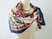 """Piramit Saf Ipek, Luscious, Thick 100% Silk Scarf / Hijab, 35"""" X 35"""", Turkey"""