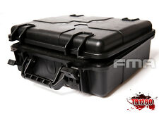 FMA Tactical Plastic Case Outdoor Travel Portable Carry Hard Storage Box Black