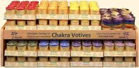 Aloha Bay Chakra Balancing Votive Candles Scented with Essential Oils