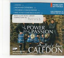 (FB645) The Power And The Passion, Caledon - 2005 DJ CD