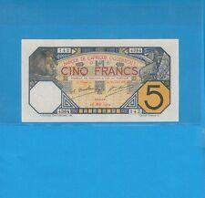 *Banque de l'Afrique Occidentale Sénégal 5 francs DAKAR du 16 mai 1929