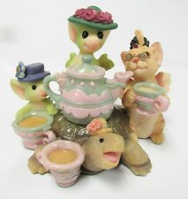 """Pocket Dragon """"Tea and Gossip """" by Real Musgrave ~ Mint New in Original Box"""