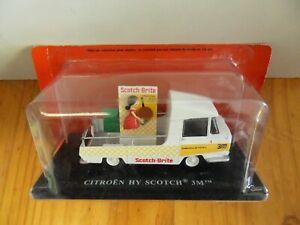Véhicule miniature : Citroën HY Scotch brite 1/43