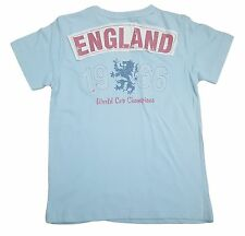 BOYS HAYWIRE ENGLAND LIONS WORLD CUP T-SHIRT WITH DESIGN ON THE BACK - SKY BLUE