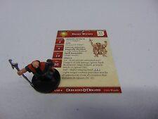 D&D DUNGEONS & DRAGONS MINIATURES DWARF WIZARD  W/CARD PROMO HC472