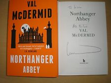 VAL MCDEMID - NORTHANGER ABBEY  1st/1st  HB/DJ  2014  SIGNED & LINED
