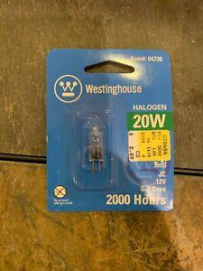 Lot Of 3 Westinghouse 0473600 - 20 Watt T3 JC Halogen Low Voltage Light Bulb