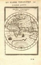 EASTERN HEMISPHERE. Europe Asia Africa. Australia incomplete. MALLET 1683 map