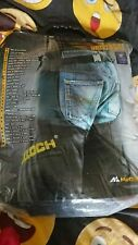 More details for mcculloch(husqvarna) protective chaps - classic one size chainsaw trousers