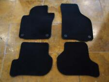 05-16 VW JETTA GOLF GTI OEM BLACK CARPET FLOOR MATS MK5 MK6 GLI SPORTWAGEN