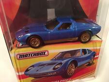Matchbox Best Of Series 2 Lamborghini Miura P400 S Diecast Model Car 1:64