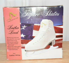 American Athletic Shoe Women's Leather Lined Ice Skates-Size 10