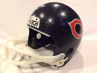Vintage Hutch Youth Football Helmet - Chicago Bears - - Costume