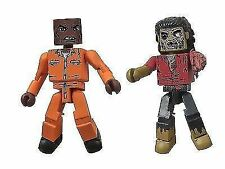 Walking Dead Minimates Series 3 Dexter/ Dreadlock Zombie (pack of 2)