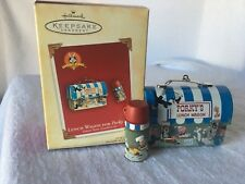 Hallmark Christmas Ornament Keepsake 2004 Lunch Wagon Porky Box Set Looney Tunes