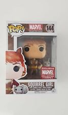 Squirrel Girl 144 Collector Corps Exclusive Funko Pop Vinyl with Pop Protector