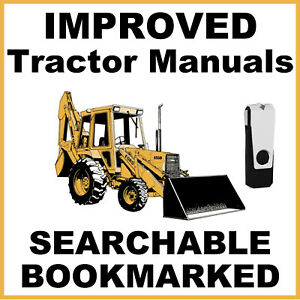 Ford New Holland 555A 555B 655A Tractor TLB Service Repair Manual USB - IMPROVED