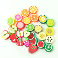 50 100 500 1000 Nail Art DIY mixed fimo Polymer Clay Spacer Beads Hole 6mm 10mm