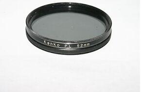 Used Kenko P.L Polar 52mm Lens Filter Made in Japan 6202089