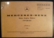 Mercedes Motoren OM 352 Ersatzteilkatalog