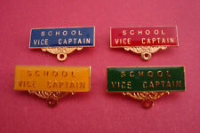 School Vice Captain Metal Badge Pin Choosefrom 4colours