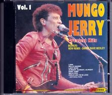 CD MUNGO JERRY GREATEST HITS VOL.1 - 1993 (contiene In The Summertime)