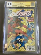 X-Force #11 CGC 9.8 SS Stan Lee & Rob Liefeld 1st app Domino Lee label.