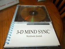 3-D MIND SYNC : MIND POWER/MENTAL EXPANSION/MEDITATION + WORKBOOK-JOURNAL BRAND