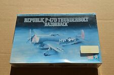 New 1/72 Tamiya Republic P-47D Thunderbolt Razorback kit # 60769 Model Airplane