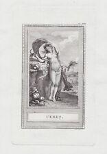 Ceres goddess Göttin Antike Römer Mythologie mythology Kupferstich etching