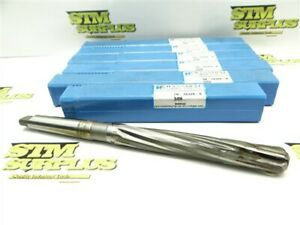 """NEW LOT OF 6 CARBIDE TIPPED 2MT JOBBER REAMERS 11/16"""" DIA HANNIBAL"""